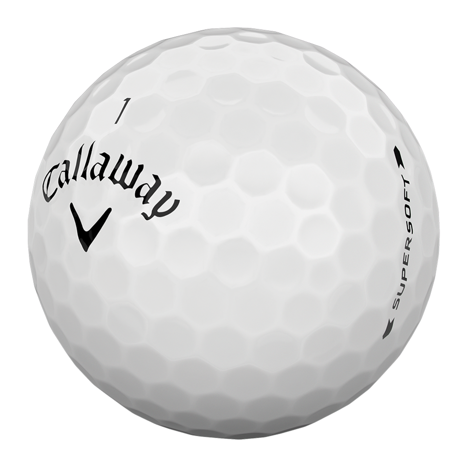 Introducing Supersoft Golf Ball illustration