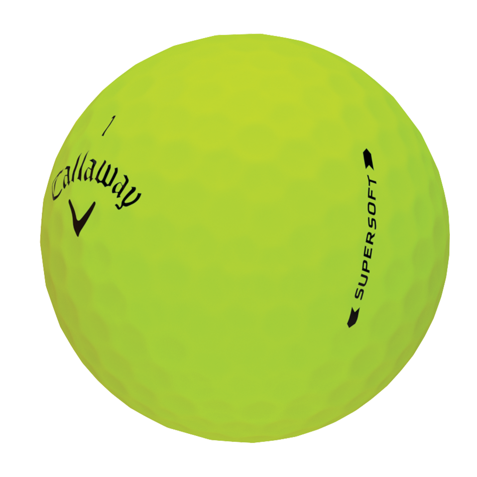 Introducing Supersoft Matte Green Golf Balls illustration