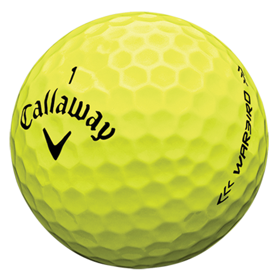 Introducing Warbird Yellow Golf Balls illustration