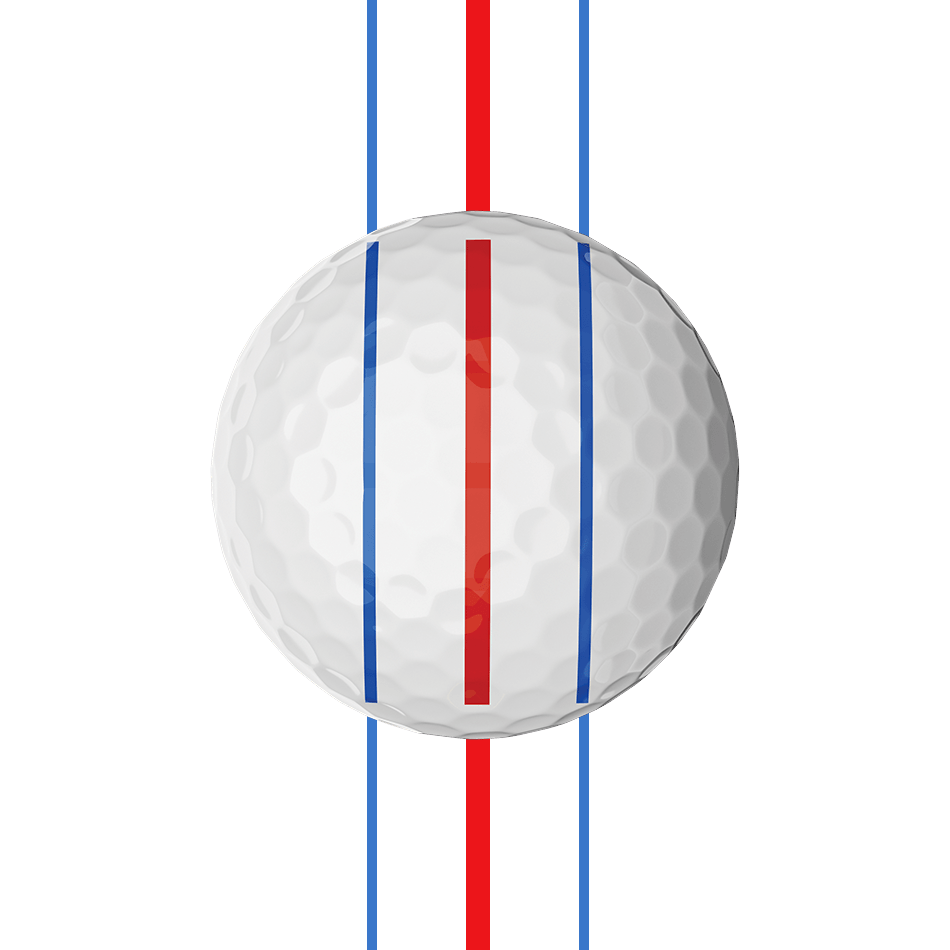 Chrome Soft X Triple Track Golf Balls illustration