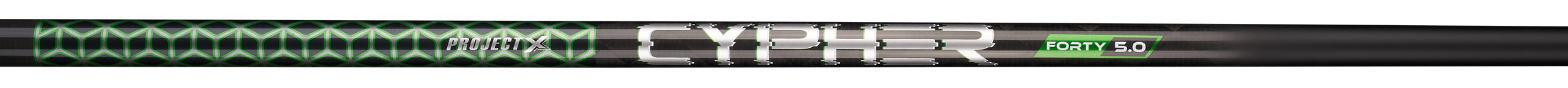 Graphite golf club shaft